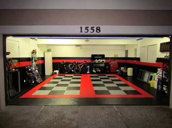 Awesome garages workshops luxury garage design for sport for Auto interior design ideas