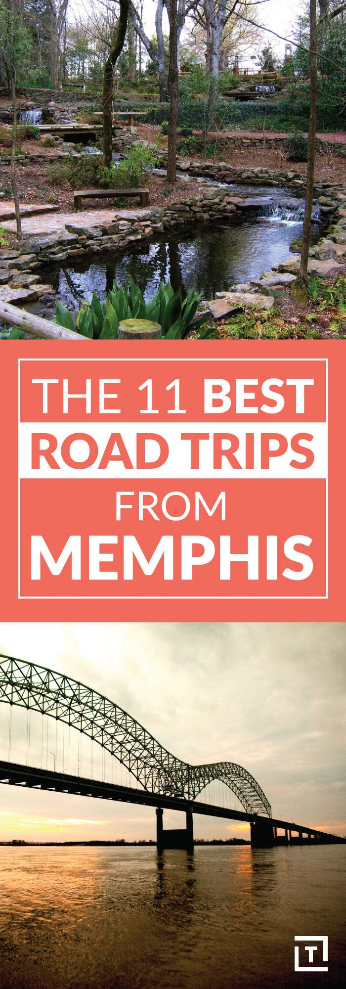Interactive Map Usa Road Trip%0A The    Best Road Trips From Memphis