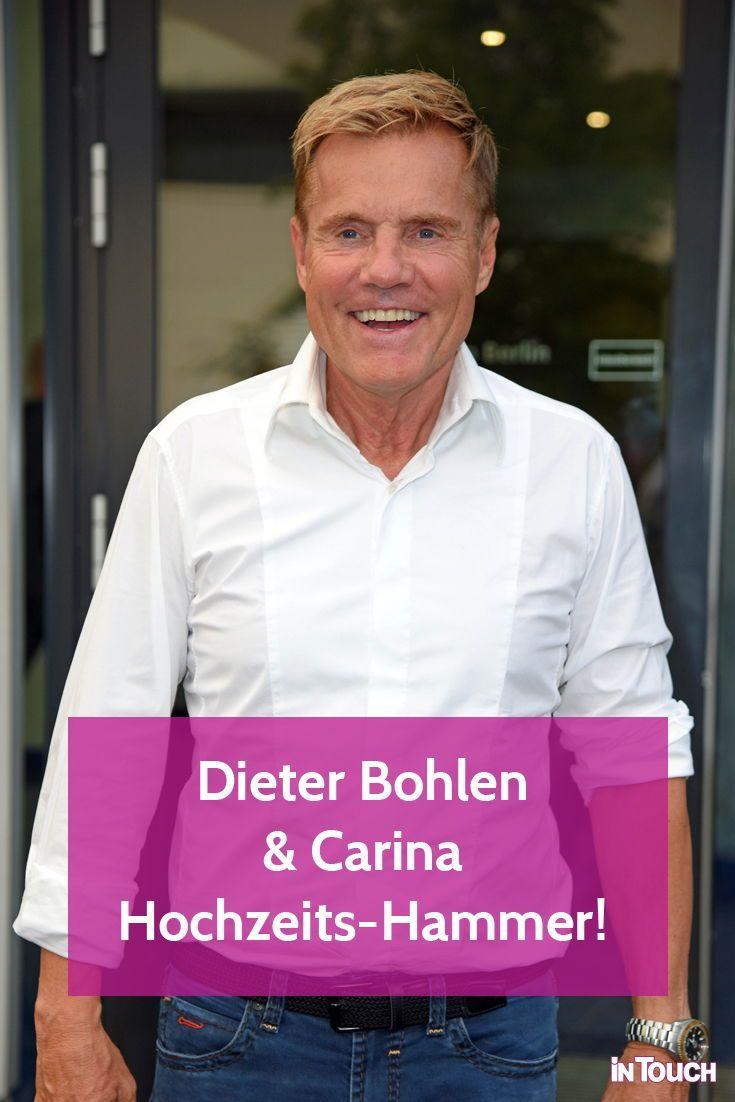 Dieter Bohlen Carina Unerwartete Hochzeits News Dieter Bohlen Bohlen Promi News