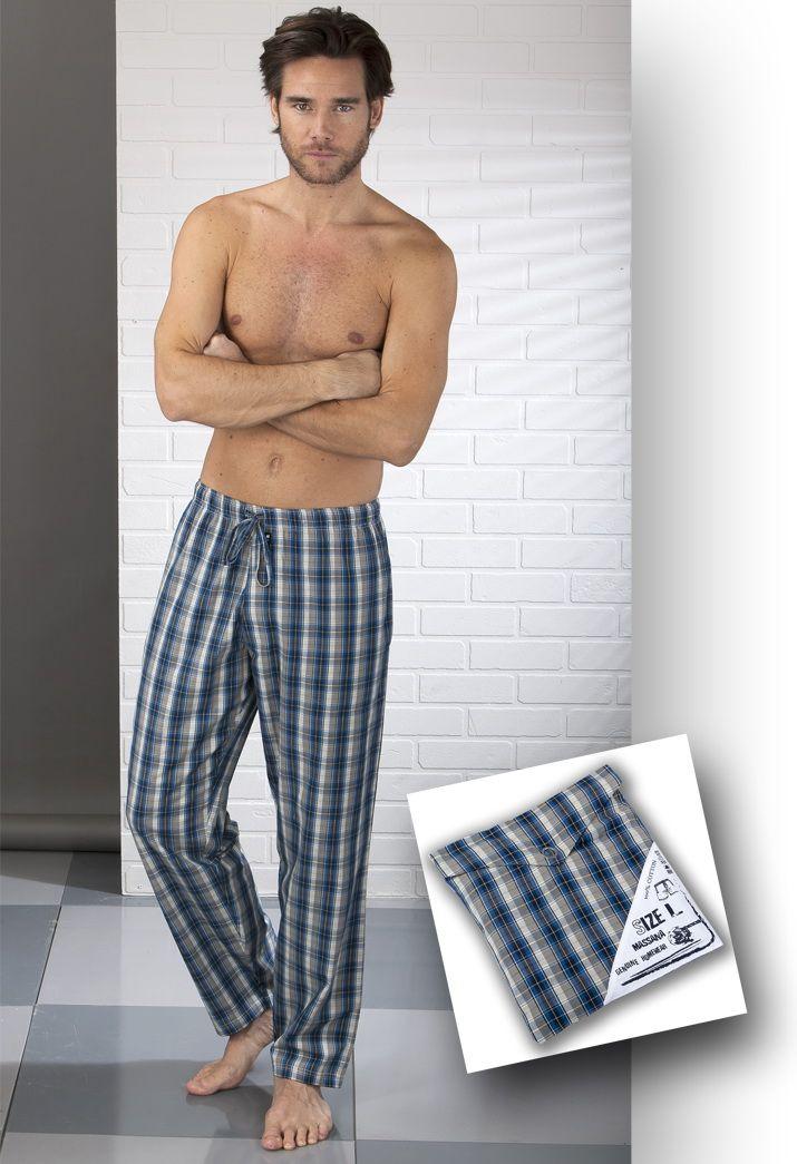 Pantalón de pijama en tela de algodón 100% Massana