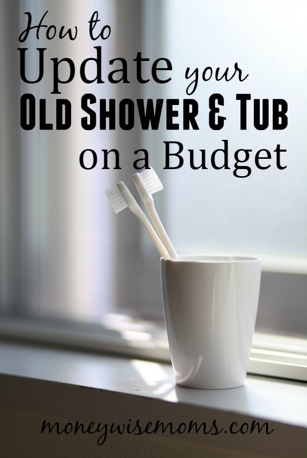 Update Your Old Shower and Tub on a Budget