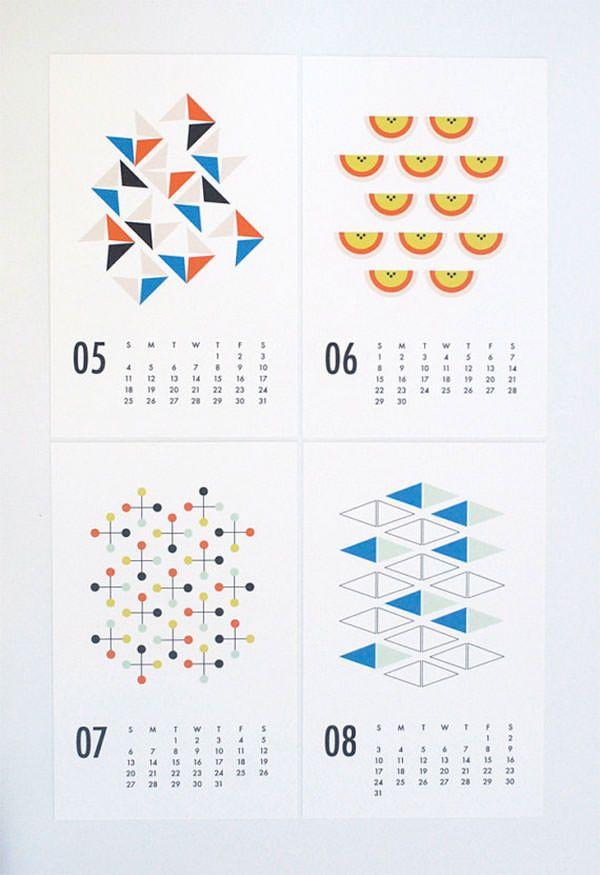 デザインが素敵!クリエイティブな2014年カレンダーデザイン20個まとめPhotoshopVIP |
