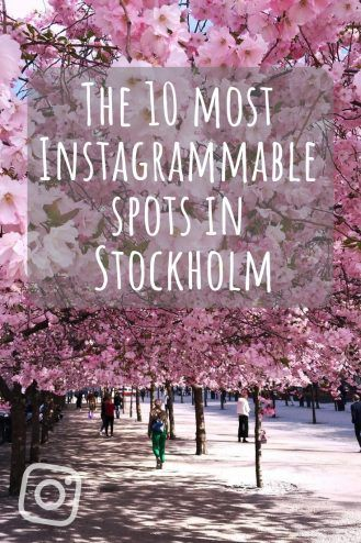 The Most Instagrammable Places in Stockholm