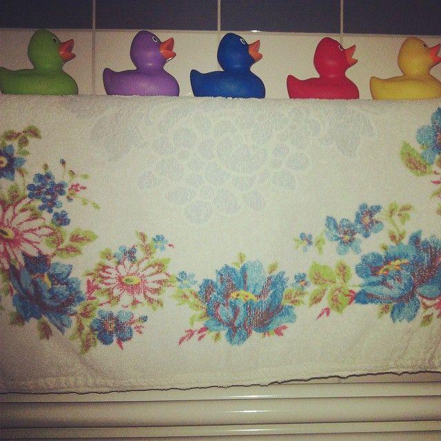 Goodmorning my sweet bathroom ducks
