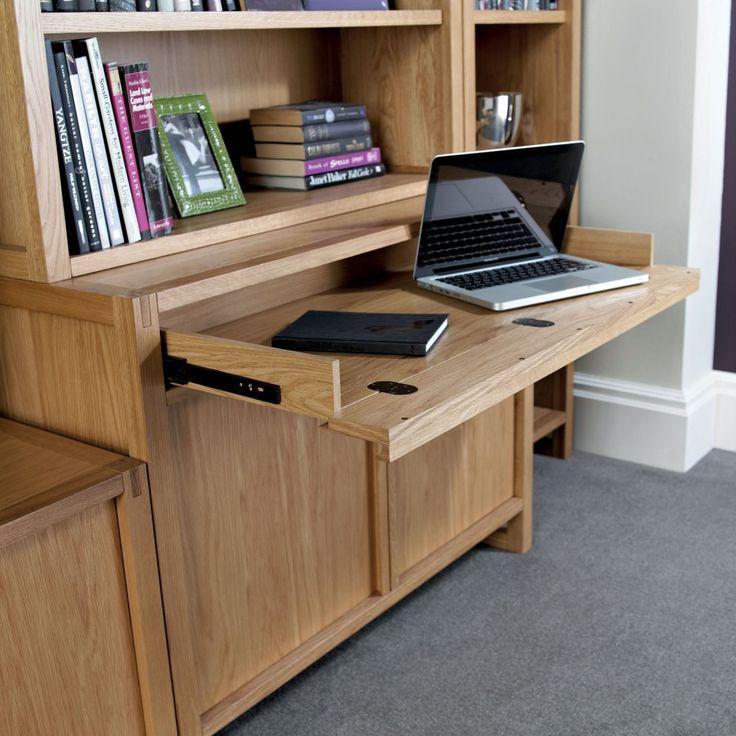 Bentley Designs Studio Oak Narrow Sideboard | First Furniture