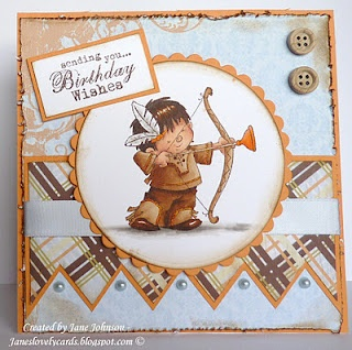 Love this cute Nellie Snellen stamp. Layout is great.