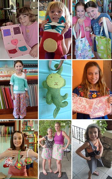 Sewing and Craft Camps and cool fabric in Austin at the Stitch Lab.