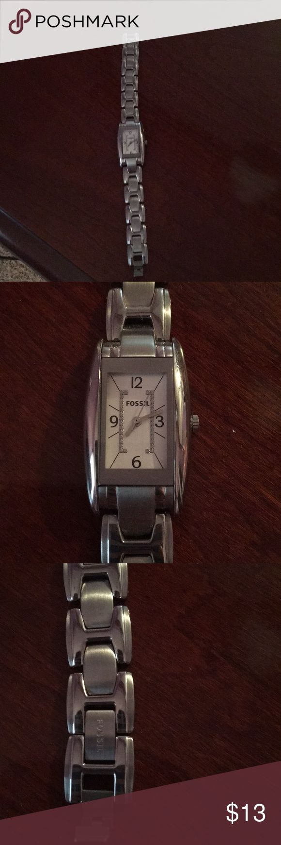 Fossil watch Silver Fossil watch. Needs battery Accessories Watches