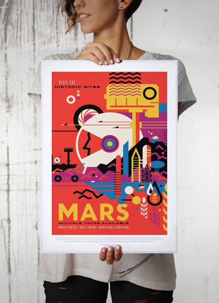 The Best Jpl Posters Ideas On Pinterest Nasa Posters Space - Retro style posters from nasa imagine how the future of space travel will look