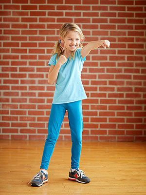 FOR LIZZIE: Get active with these exercises designed to put the kick back in your family's workout.