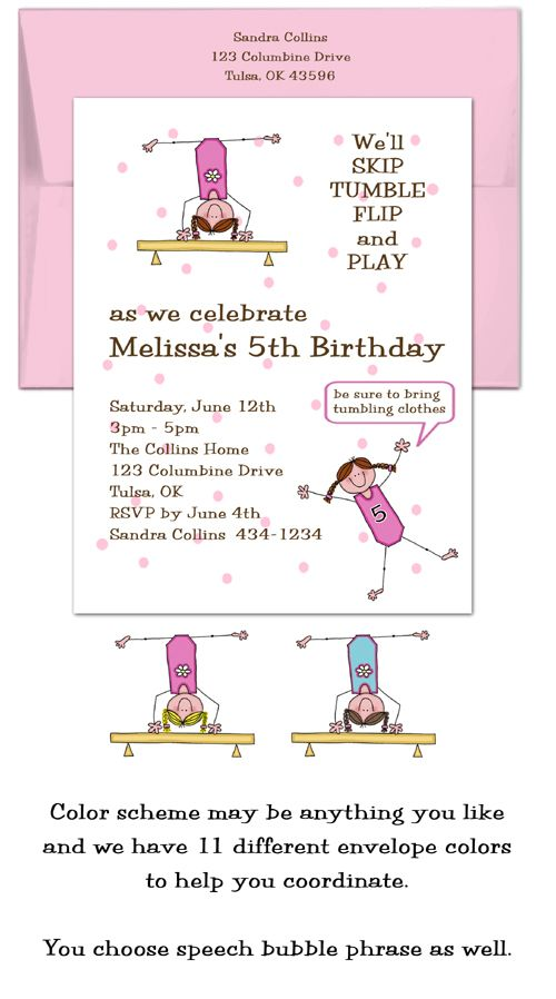32 best Gymnastics Party images on Pinterest Gymnastics birthday