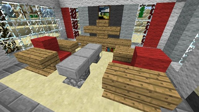 1000 Images About Minecraft Furniture On Pinterest