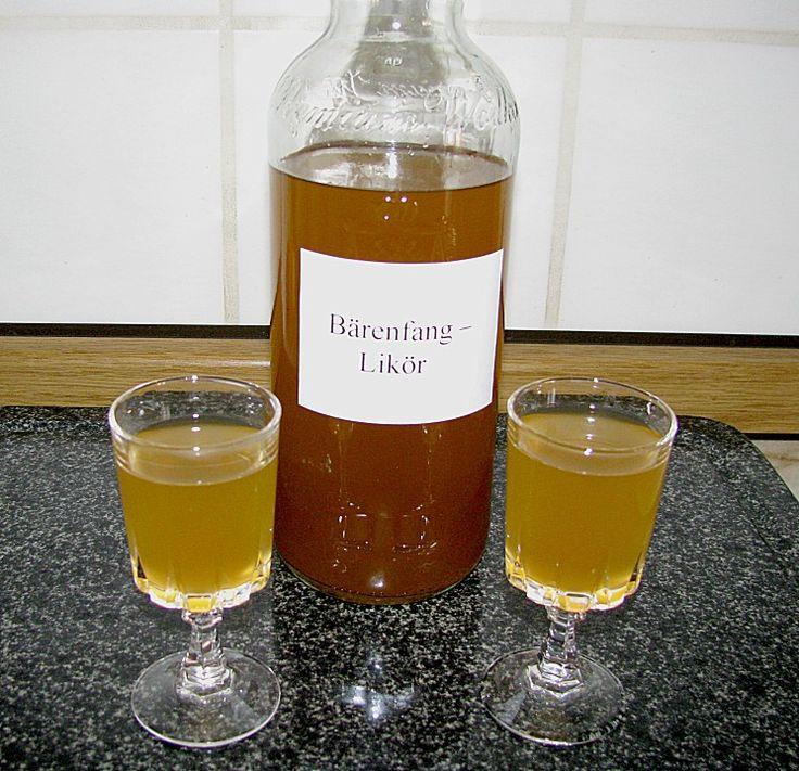 Bärenfang - Likör, ein schmackhaftes Rezept aus der Kategorie Likör. Bewertungen: 31. Durchschnitt: Ø 4,1.