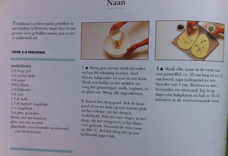 Bijgerecht - recept naanbrood