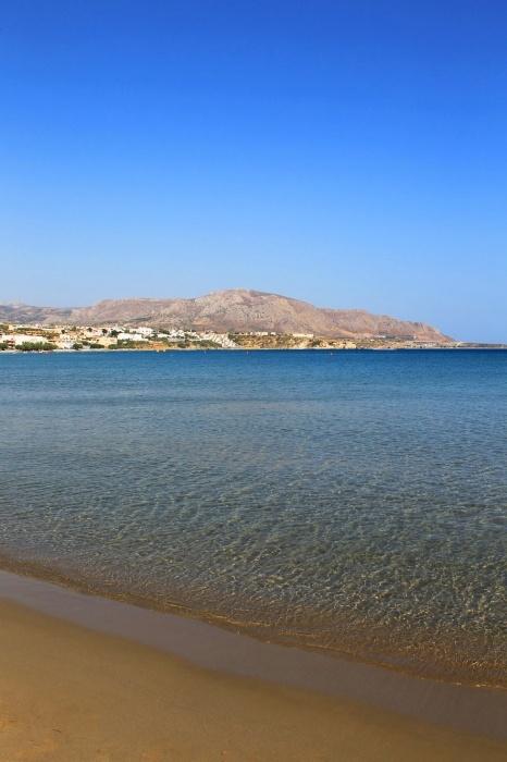 The beach of Makrigialos~Greece