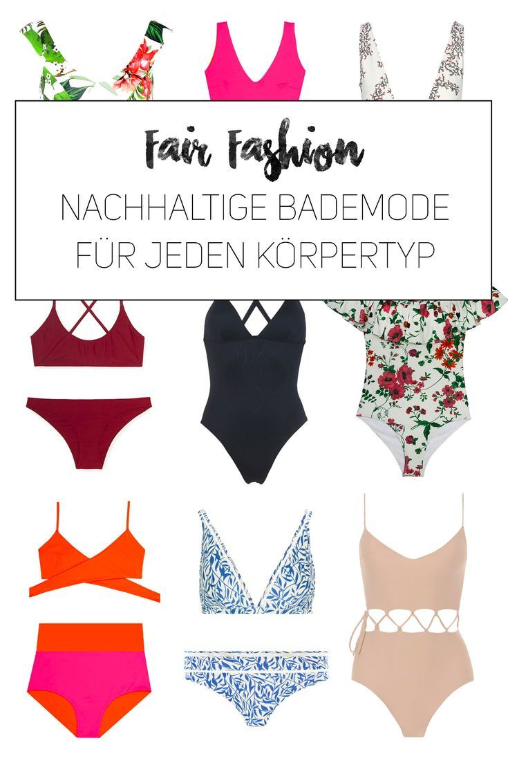 Fair and sustainable swimwear for every budget & every style & body type