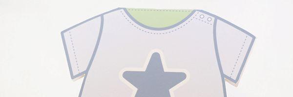 Gratis utskrivbart baby-body kort perfekt till din vän eller släkting när de fått tillökning av familjen!
