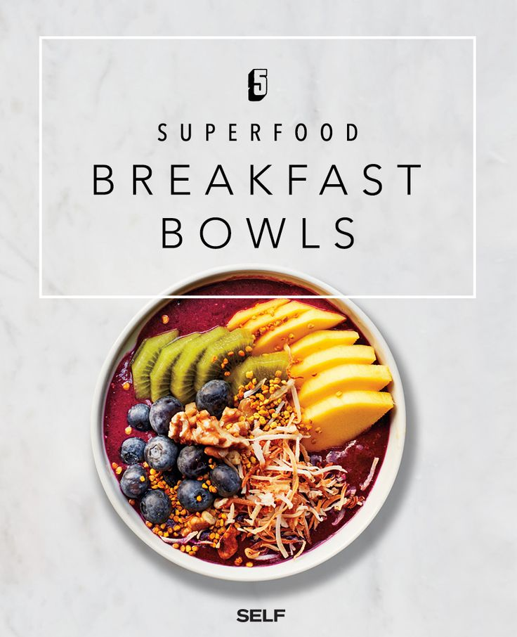 5 Healthy Breakfast Bowls For All-Day Energy - SELF