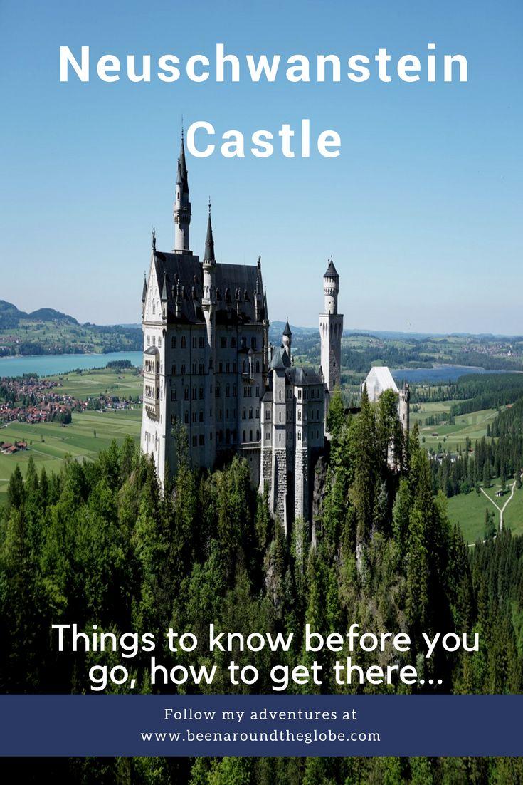 O castelo neuschwanstein