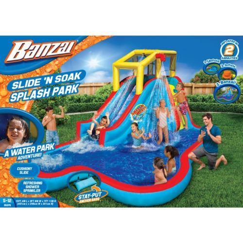 Banzai Slide 'N Soak Splash Park $240   Kohl's Cash!