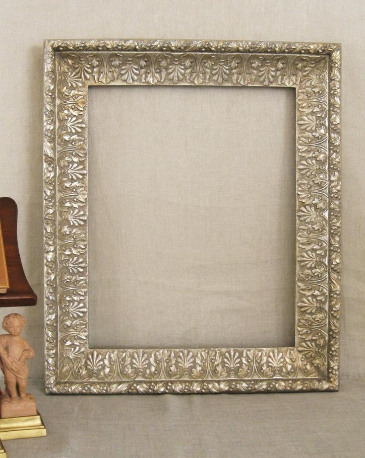 Ornate Silver Tone Frame- Frames/ Mirrors. $30.00, via Etsy.