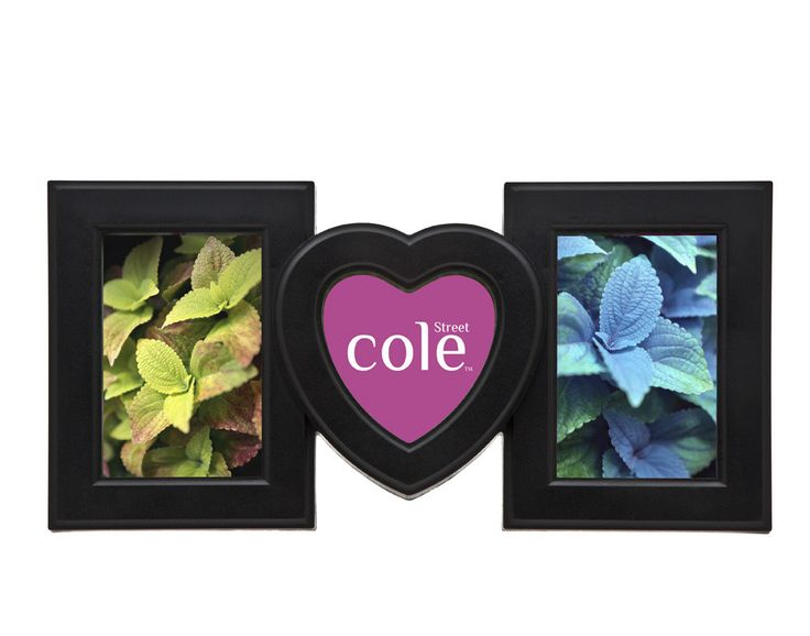 3 opening inj heart collage picture frame