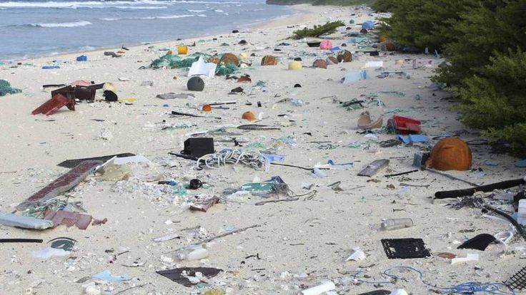 Una isla deshabitada en el Pacífico sur es el lugar con más basura del mundo