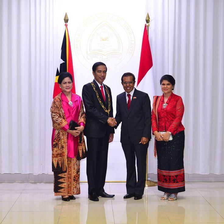 Timor-Leste adalah sahabat dan tetangga terdekat, dan saudara Indonesia. Kedua bangsa kita dipersatukan dan diikat oleh kedekatan geografis dan budaya. Indonesia dan Timor Leste akan meningkat kerjasama di berbagai bidang sebagai mitra utama pembangunan  Pemberian bintang jasa tertinggi the Grand Collar of the Order of Timor- Leste dari Presiden Timor-Leste ini merupakan kehormatan bagi saya. Penghargaan ini menjadi tanggung jawab besar bagi saya dalam menjaga persahabatan, menjaga…