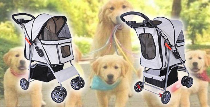 Passeggino Cane e Gatto carrello carrozzina