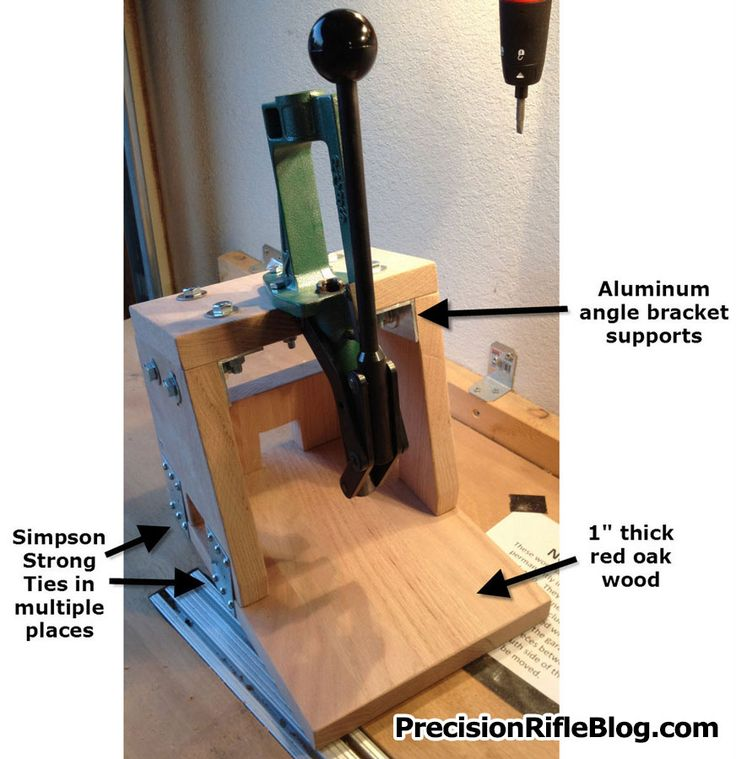 portable reloading press stand