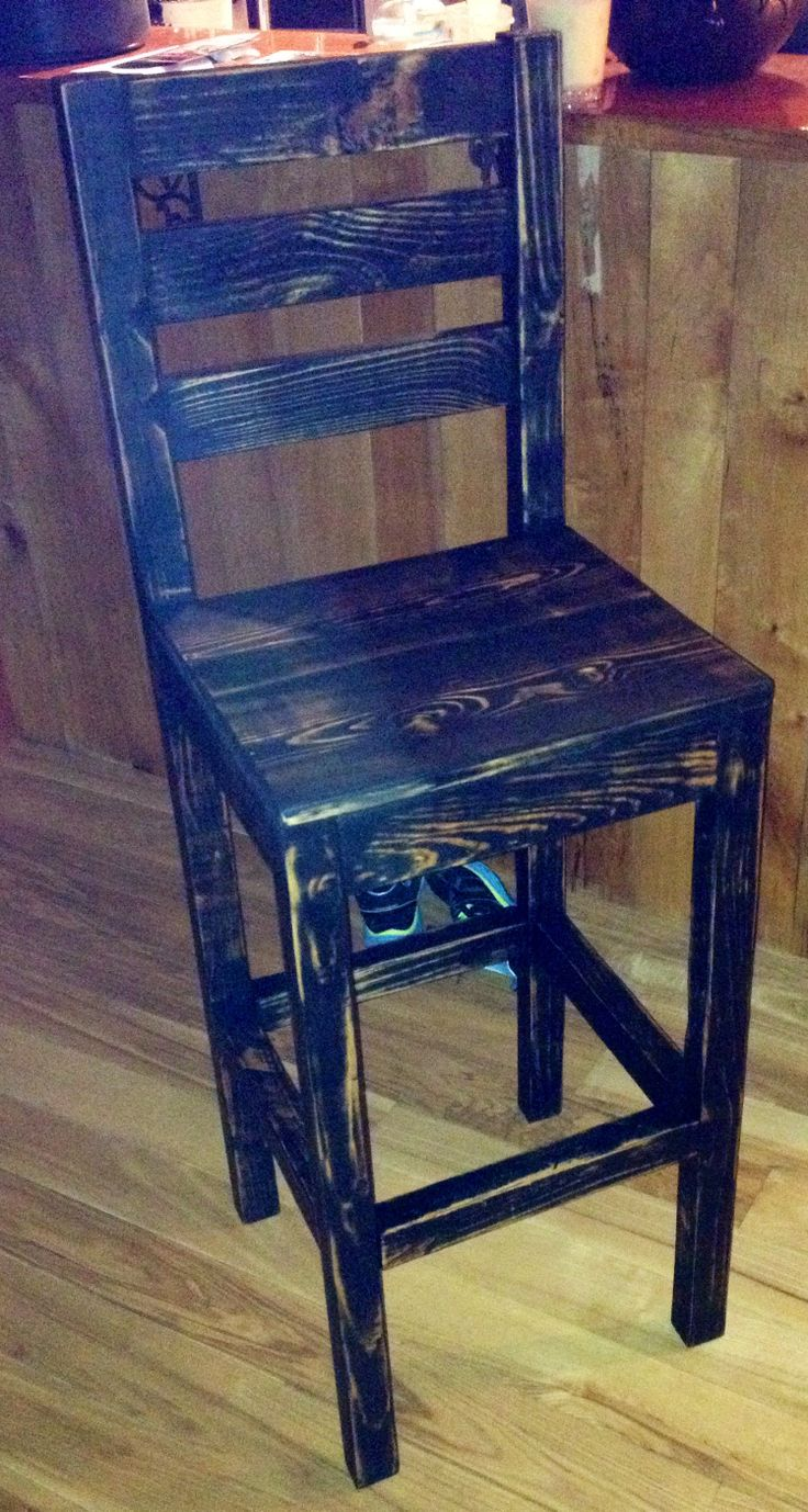 Reserved for valry fetrow wooden cornice primitive picture - Pallet To Bar Stool Doubt I Could Make It But I Like The Color And