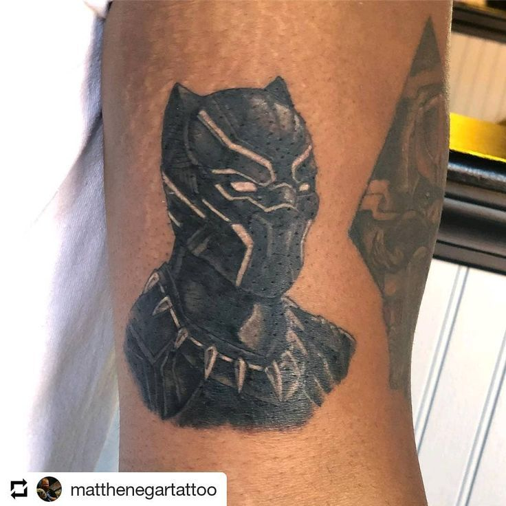 Marvel Tattoo Photo By Lincolnt22 On Instagram Repost Blackpanther Wakanda Blackpanthertattoo Mcutattoo Mc Comic Book Tattoo Tattoos Marvel Tattoos