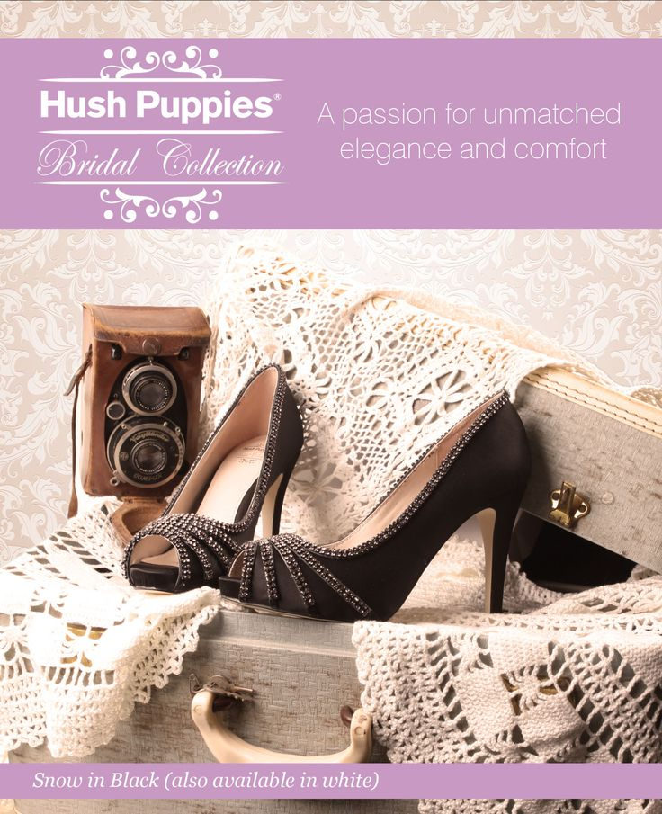 Bridal Wardrobe's Hush Puppies Wedding shoes collection - IN STORE