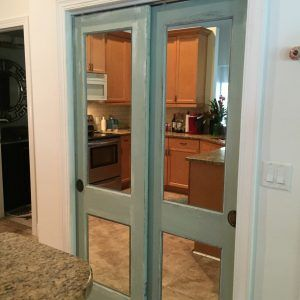 Antique Bifold Closet Doors