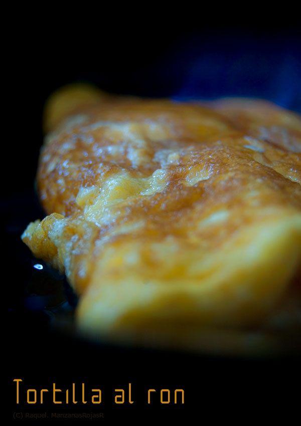 Tortilla al ron. ManzanasRojasR