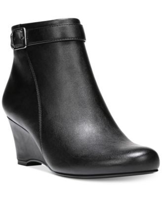 Naturalizer Hurley Wedge Booties | macys.com