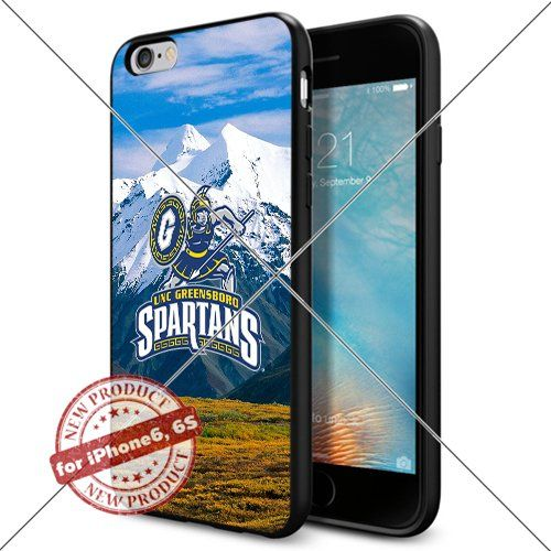 WADE CASE UNC Greensboro Spartans Logo NCAA Cool Apple iPhone6 6S Case #1352 Black Smartphone Case Cover Collector TPU Rubber [Forest] WADE CASE http://www.amazon.com/dp/B017J7EA52/ref=cm_sw_r_pi_dp_AXIrwb181FVZ0