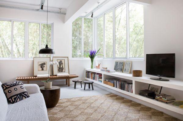Interior Design & Deco by Nicolas Bouriette, via Behance