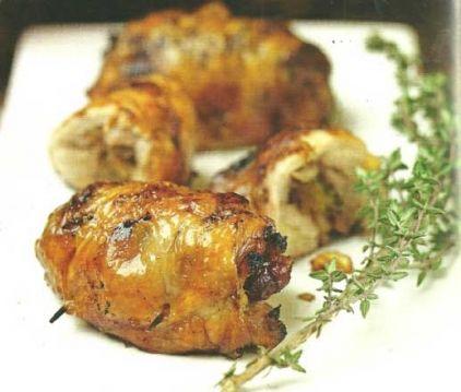 Κοτόπουλο με μήλα, λεμόνι και σταφίδες - gourmed.gr