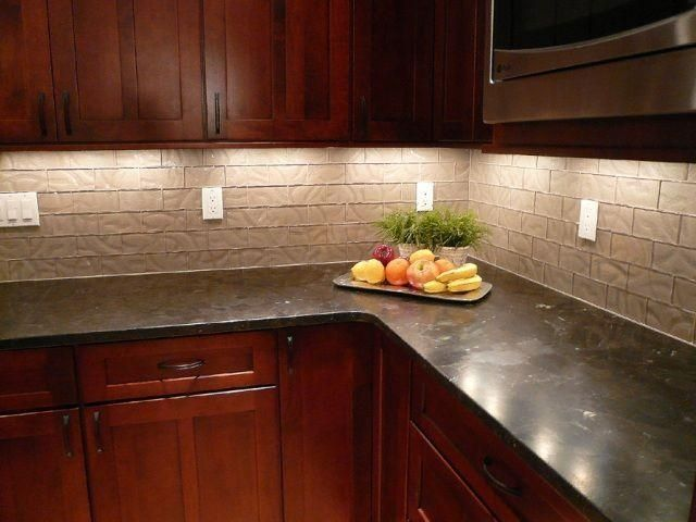 Brown Antique Granite Countertops Kitchen Ideas