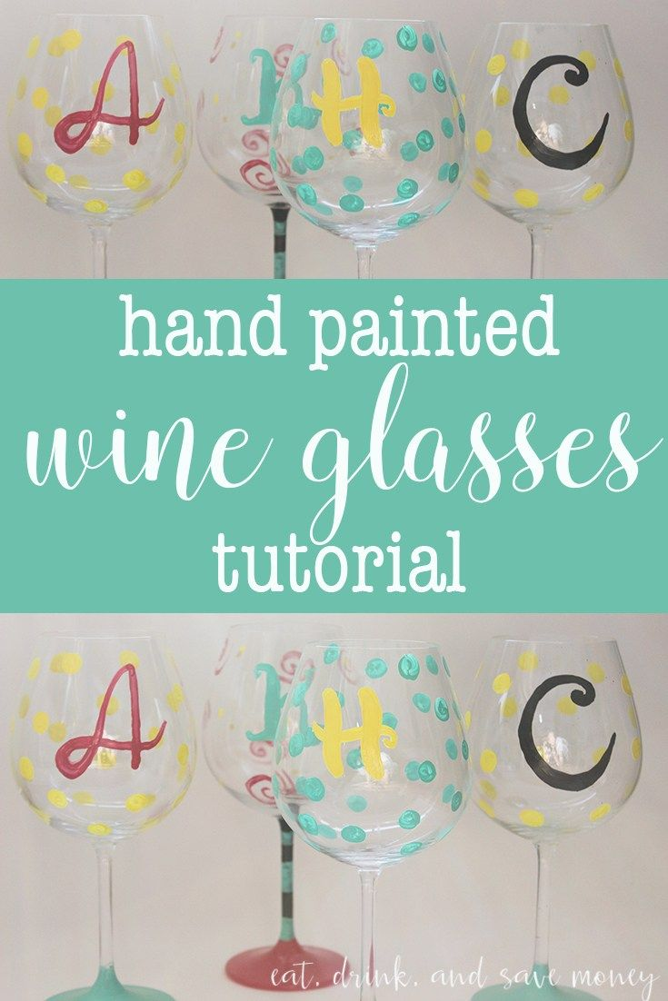 Best 25 DIY birthday wine glasses ideas on Pinterest