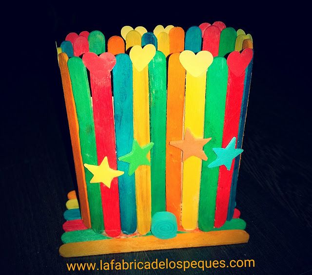 899 best images about pl stica y manualidades infantil on - Manualidades con palitos ...