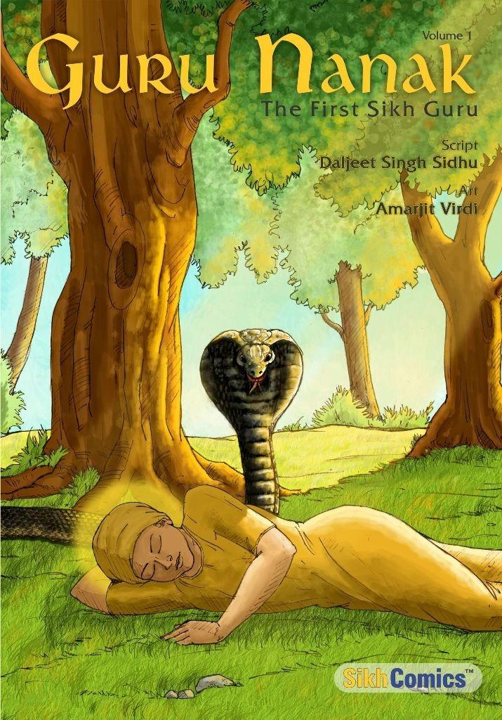 SikhComics.com - Guru Nanak - The First Sikh Guru, Volume 1 (English Graphic Novel), USD $3.99 (http://www.sikhcomics.com/guru-nanak-dev-sikh-gurus-vol1)