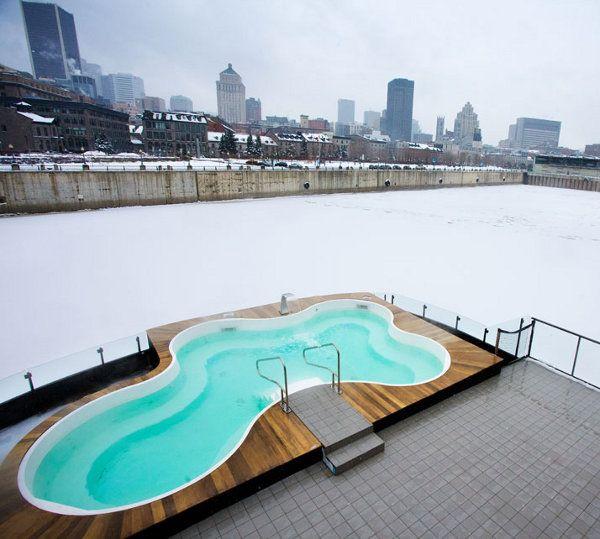 Bota Bota - Floating Spa of Montreal. Ahhhh