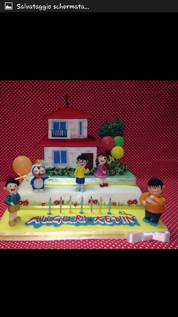 Torta Doraemon pasticceria Dece Via Calefati Michele e Nicla