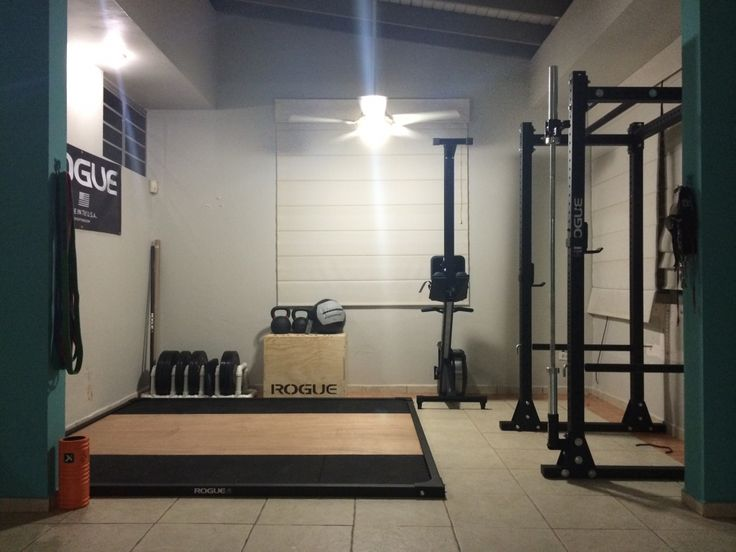 Best garage gyms images on pinterest