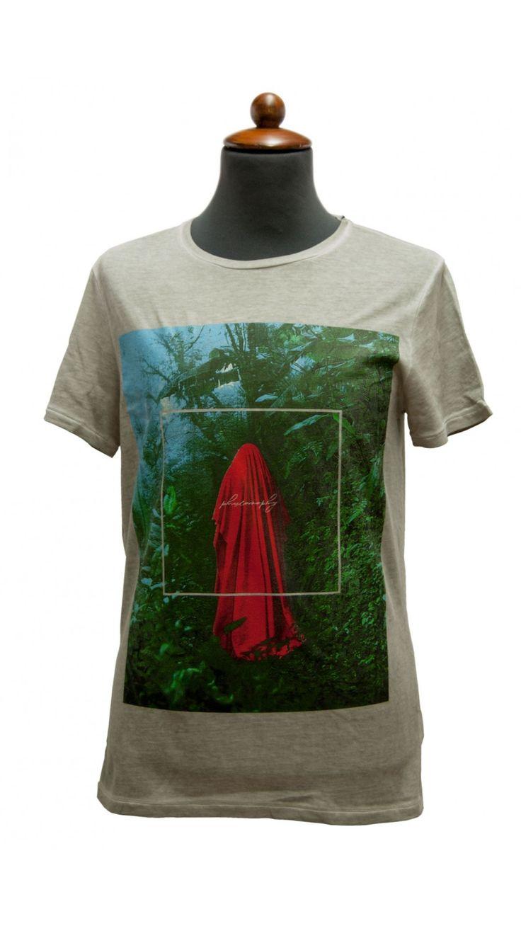 T-shirt uomo MODS stampata verde acqua www.fevoutlet.com