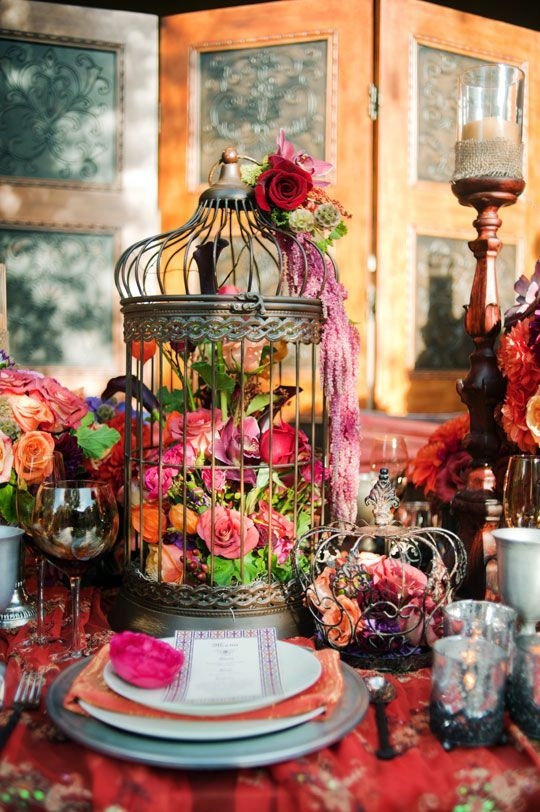 364 best tablescapes bohemian style images on pinterest for Boho chic decoracion