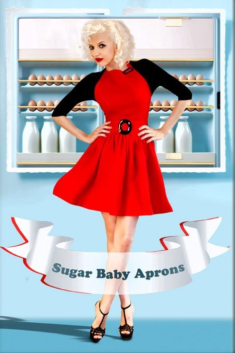 the knack: Be Super Stylin' in the Kitchen With Sugar Baby Aprons