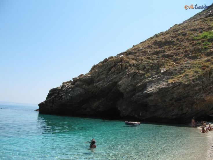 Agios Dimitrios Beach in the South of Evia